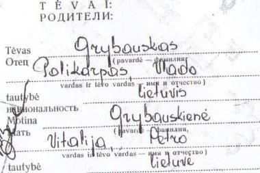 D.Grybauskaitė – tikra lietuvė