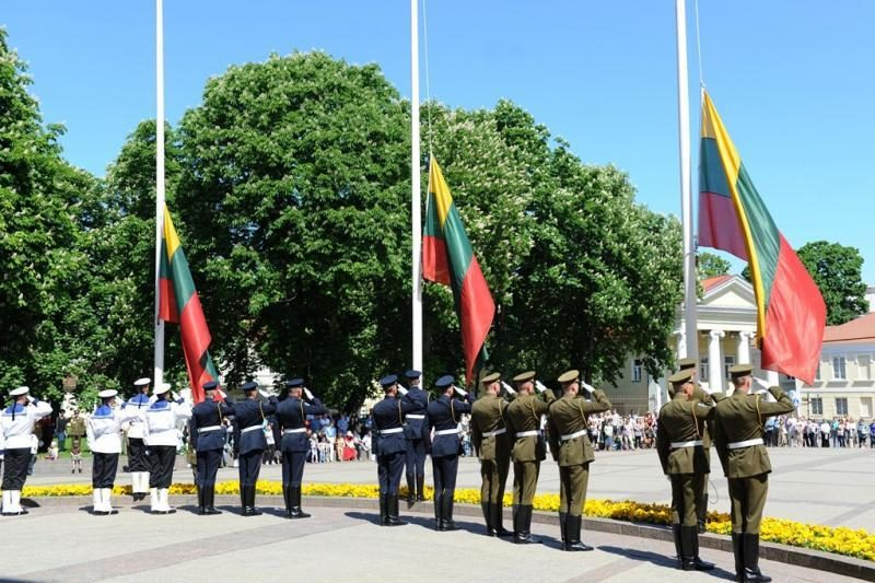 Vilniuje pagerbti Lietuvos partizanai ir Laisvės gynėjai