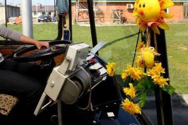 Du paaugliai troleibuso vairuotojai papurškė dujų