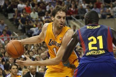 Eurolygos čempionai įveikė NBA čempionus
