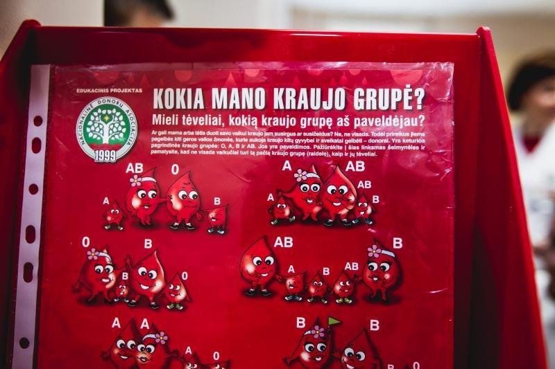 Studentiškas choras Kauno klinikoms paaukojo apie 5 litrus kraujo