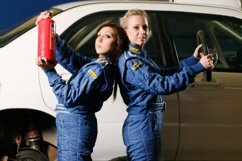 Naujas moteriškas ralio ekipažas: I.Slaboševičiūtė ir I.Jankovskaja