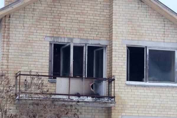 Dėl netvarkingo dūmtraukio sudegė namas Pagiriuose