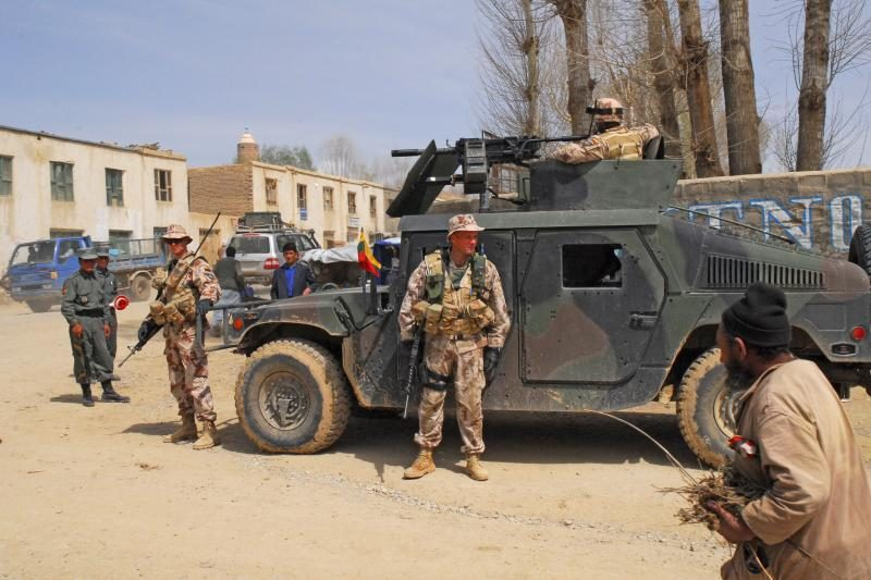 Afganistane sužeisto lietuvio būklė sunki, jis gydomas Vokietijoje