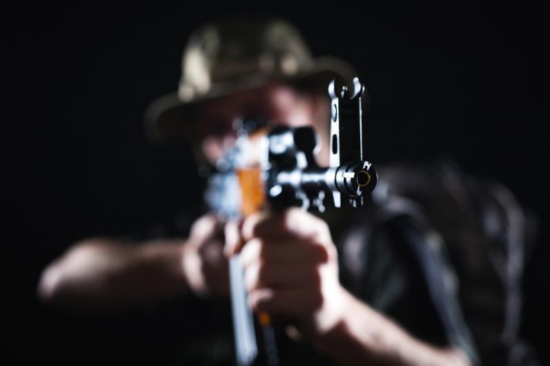 Iš neveikiančio sandėlio pavogti pneumatiniai šautuvai