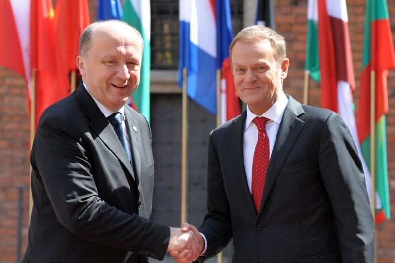 A.Kubilius kitą savaitę Varšuvoje susitiks su D.Tusku