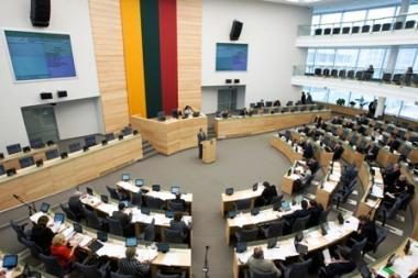 Seimas pradeda narstyti kitų metų biudžetą (papildyta 12.30 val.)