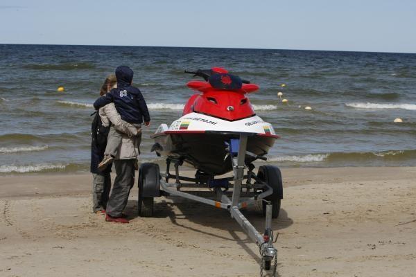 Palangos gelbėtojai ketina įsigyti oro motociklą