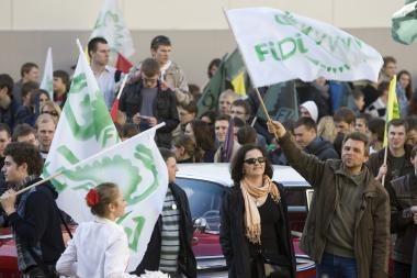 Vilniuje šėlo FiDi šventės mylėtojai
