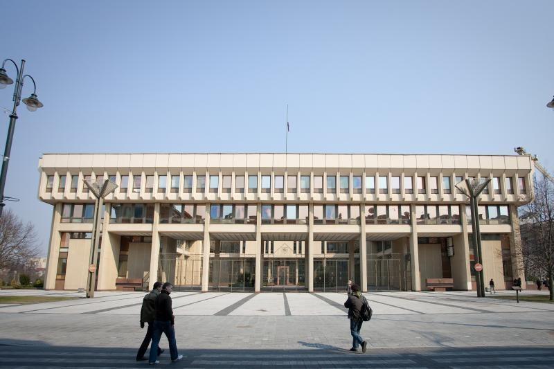 PST už 6,4 mln. litų turėtų rekonstruoti Seimo pirmuosius rūmus