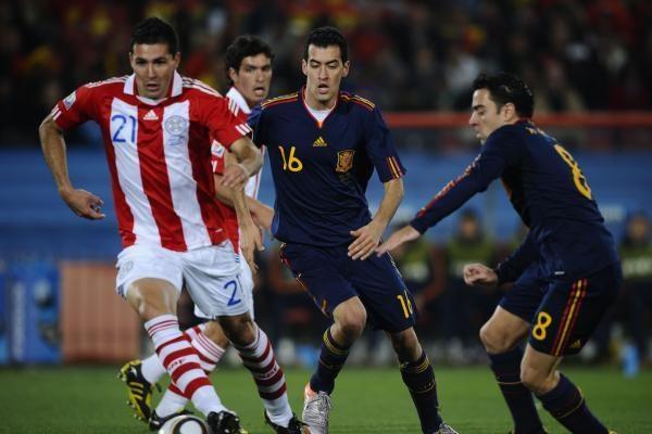 Trijų virpstų pergalė: Paragvajus - Ispanija 0:1 (papildyta)