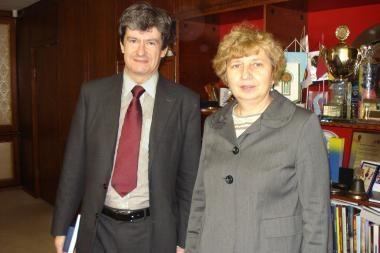Ambasadorius domėjosi, kodėl Klaipėdoje mažėja kalbančiųjų vokiškai