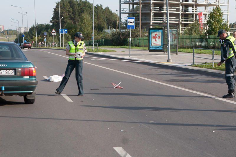 Per autoavariją Vilniuje žuvo 8-erių mergaitė (papildyta)