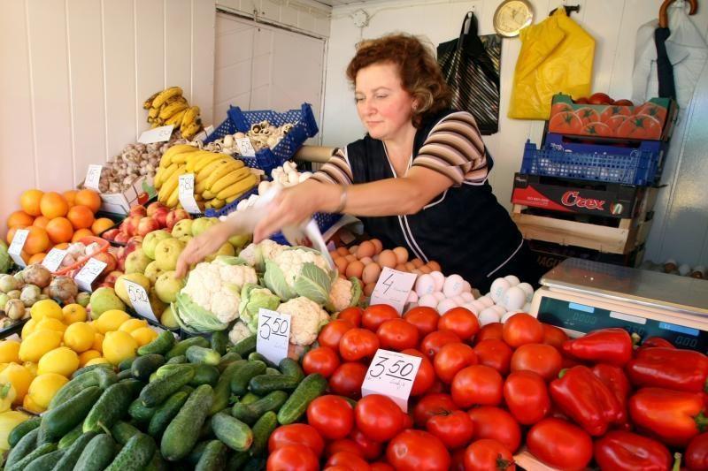 Kioskų ir paviljonų prekeiviams – trečdaliu mažesnė rinkliava