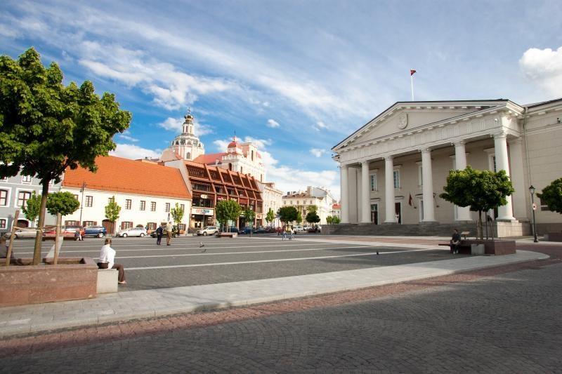 Ugniagesių darbą Vilniaus senamiestyje apsunkintų siauros gatvės