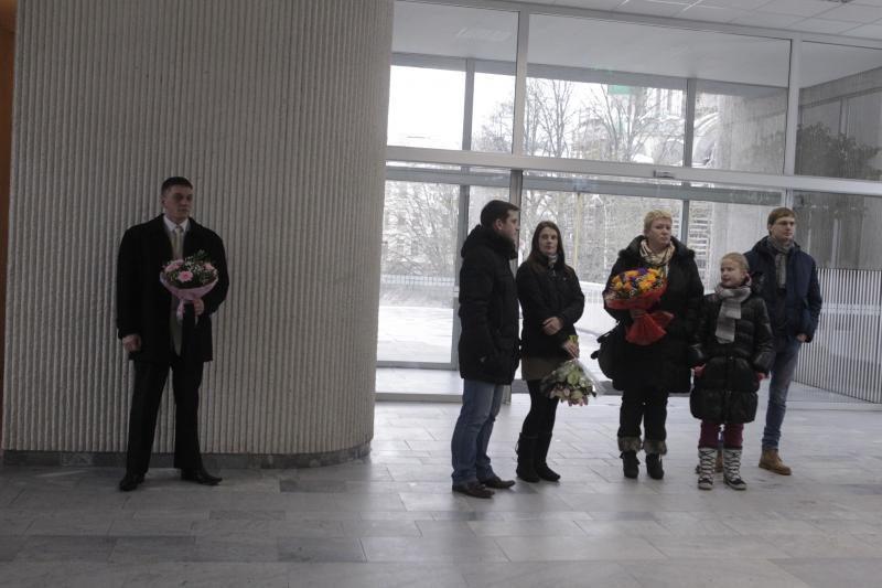 Į Santuokų rūmus meilės dieną žengė ir Seimo narys