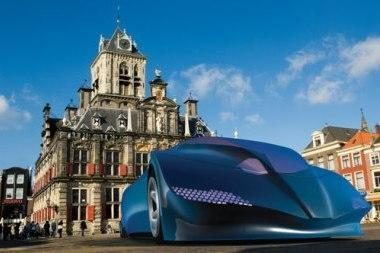 Nyderlandų studentų darbas – superautobusas