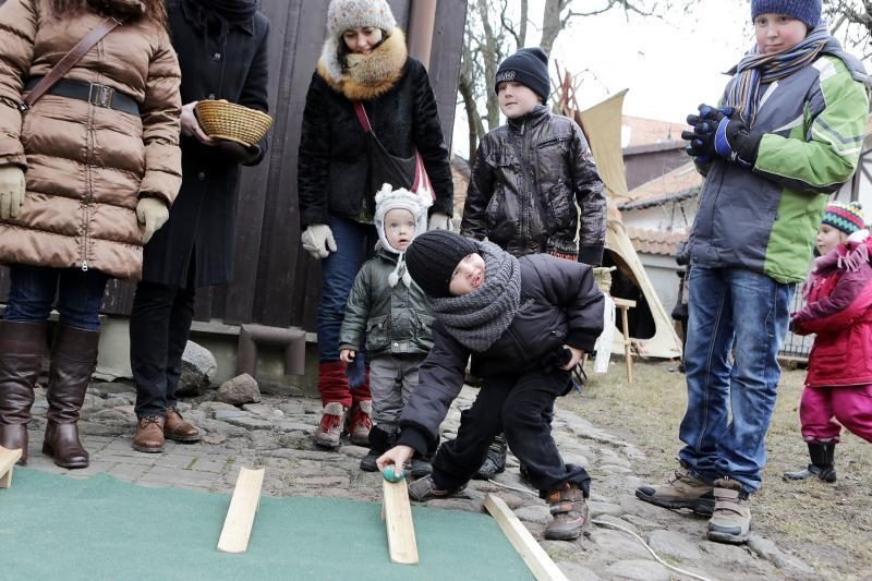 Atvelykis Klaipėdoje persipynė su amatų švente