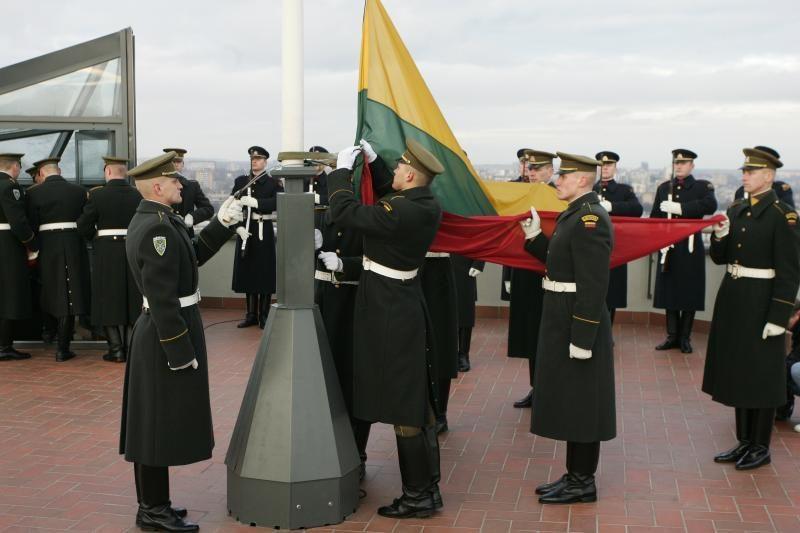 I. Degutienė: kol bus valstybė, bus ir jos vėliava
