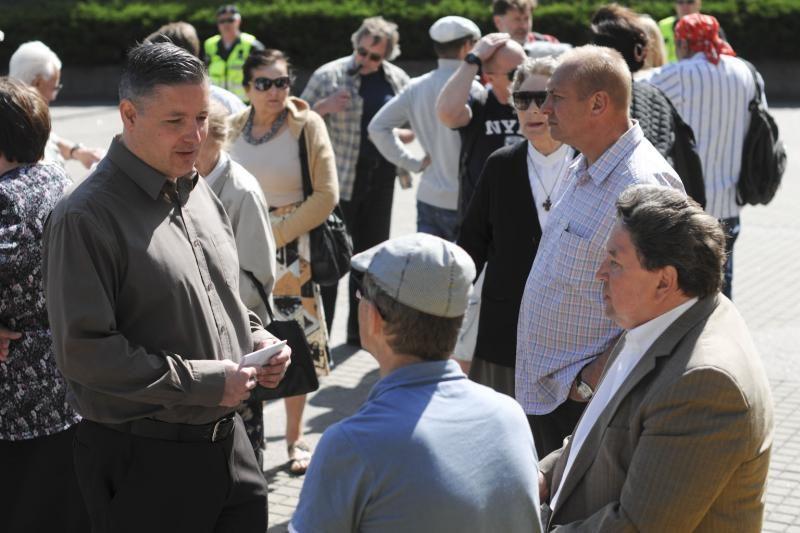 N.Venckienės šalininkai mitinge reikalaus įvertinti Garliavos įvykius