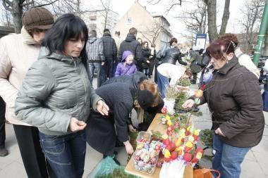 Klaipėdos gyventojai minėjo Verbų sekmadienį