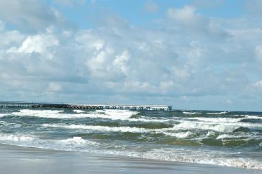Sulaikytas į jūrą be leidimo išplaukęs klaipėdietis