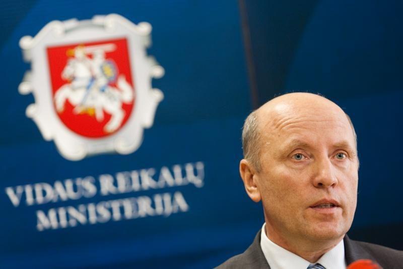 R.Palaitis panaikino FNTT vadovų leidimus dirbti su slapta informacija