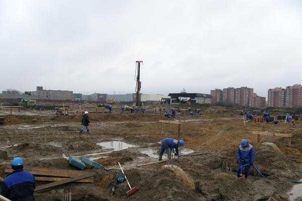 Statybininkai padėjo Klaipėdos merui