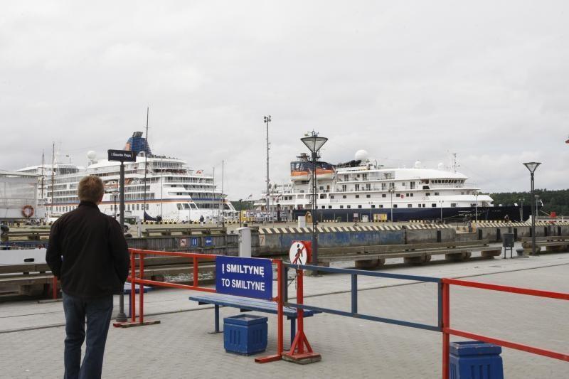 Klaipėdos uostą aplankė dar du kruiziniai laivai (papildyta)