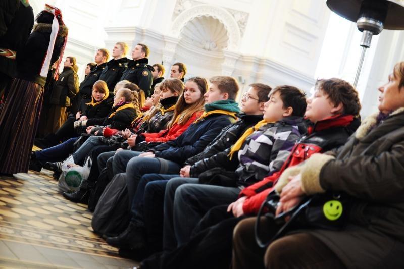 Kaune pagerbti Sausio 13-osios didvyriai
