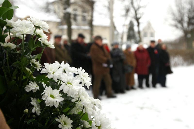 Įamžintas rašytojo, vertėjo ir politinio kalinio K.Jankausko atminimas