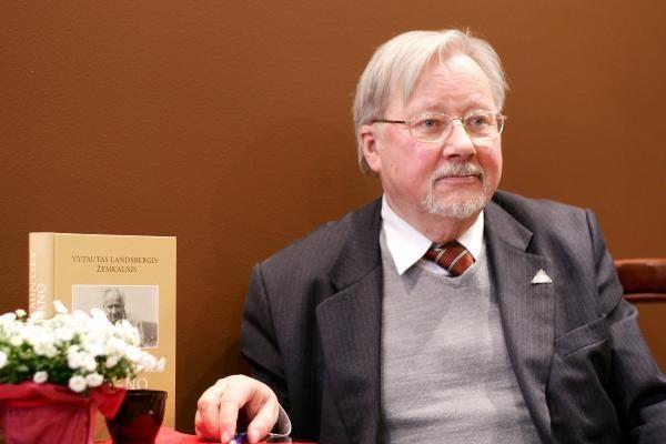 Europarlamentaras V. Landsbergis švenčia 80-ąjį jubiliejų