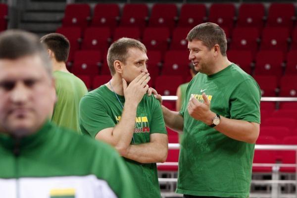 Lietuva - Kinija: svarbiausias aštuntfinalio mūšis - krepšininkų galvose