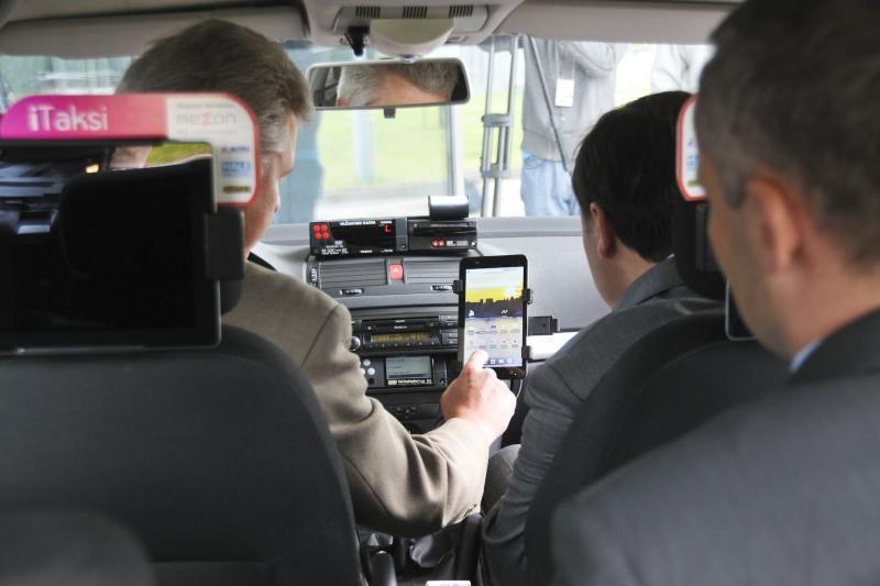 """""""iTaksi"""" – vaizdo kameros, taksometras, planšetiniai kompiuteriai"""