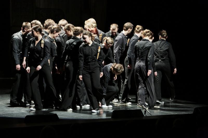 Klaipėdos teatrai žiūrovus vaišino kultūriniu Užgavėnių šiupiniu