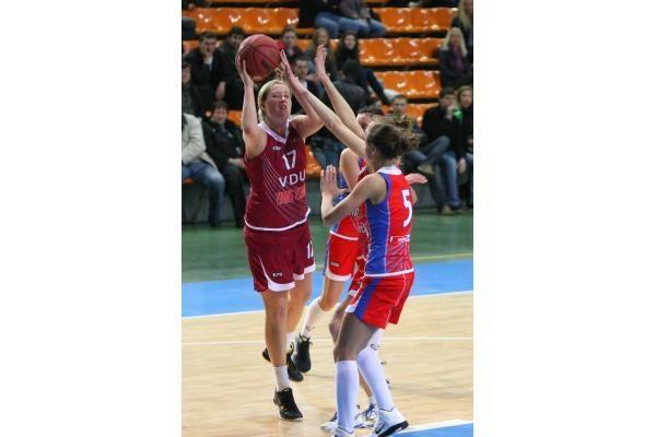 Tarp studenčių stipriausios LKKA krepšininkės