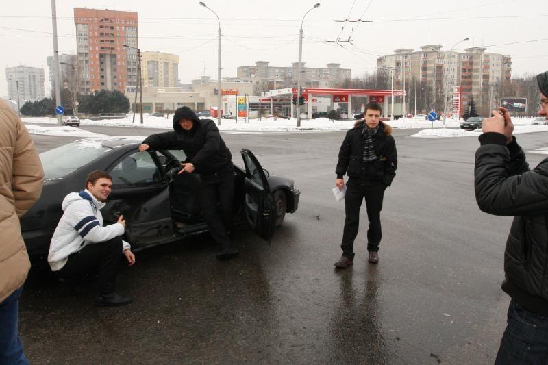 Seimo narys A.Dumčius pateko į avariją