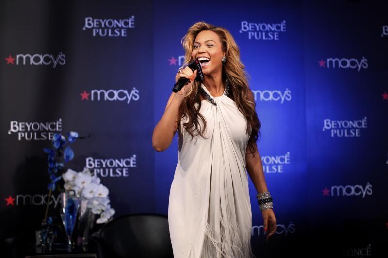 Popdievaitė Beyonce jau sūpuoja pirmagimę