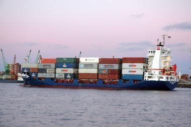 Uostamiestyje regimas konteinerių paskirstymo centras