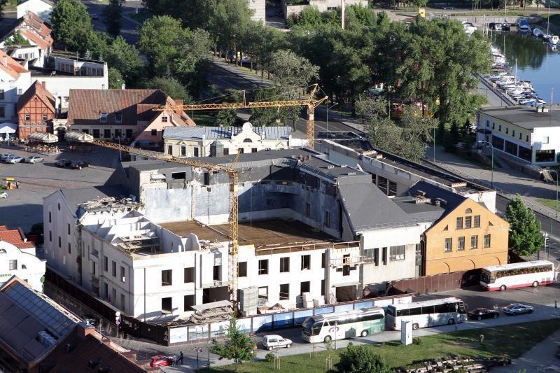 G.Pranckūnas tikisi, kad Klaipėdos dramos teatro remontas baigsis