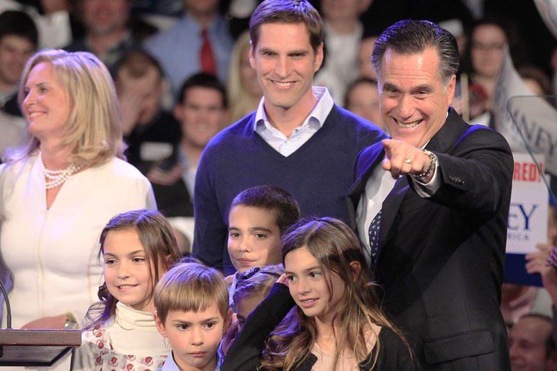 M.Romney persvara Floridoje padidėjo iki dviženklio skaičiaus