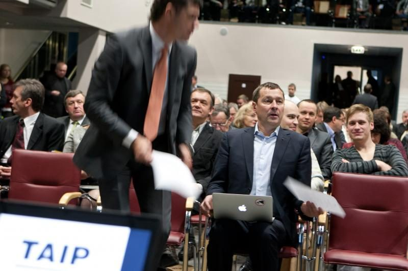 Sąjungos TAIP pirmininku vienbalsiai išrinktas A.Zuokas (papildyta)
