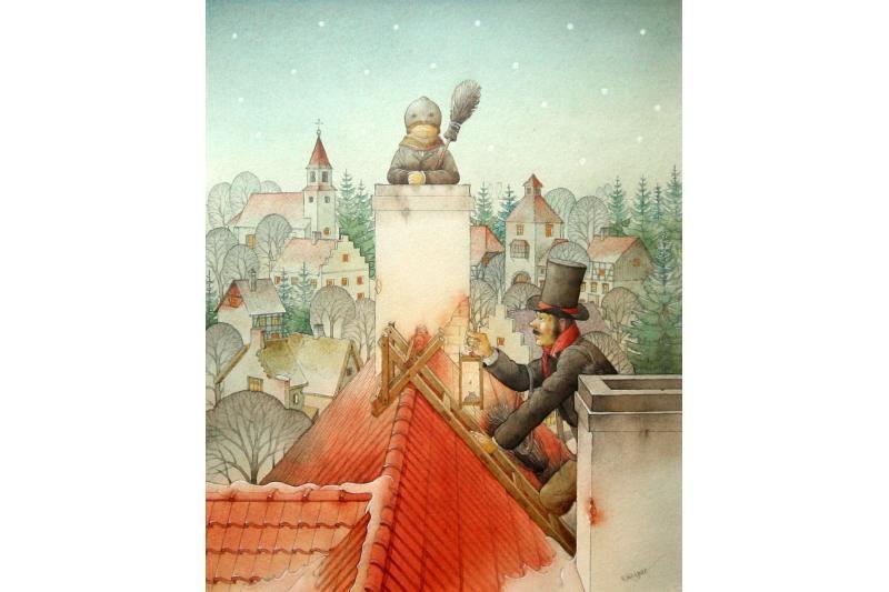 K.Kasparavičius – dailininkas, gyvenantis savo parašytose istorijose