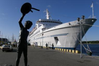 Siūloma mažinti uosto rinkliavas kruiziniams laivams