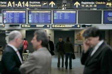 Vilniaus oro uoste įsigalioja naujas žiemos sezono skrydžių tvarkaraštis
