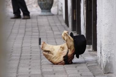 Po išpuolio su kiaulės galva Kaune prie sinagogos įrengtos kameros