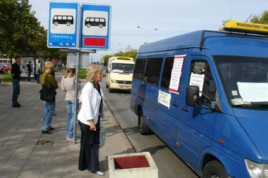 Panevėžyje maršrutiniai taksi – jau istorija