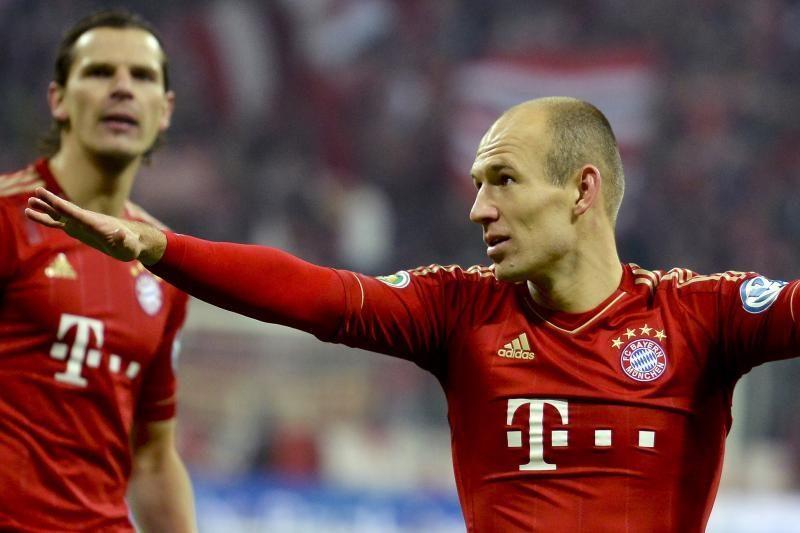 A. Robbenas: J. Guardiola padės man patobulėti