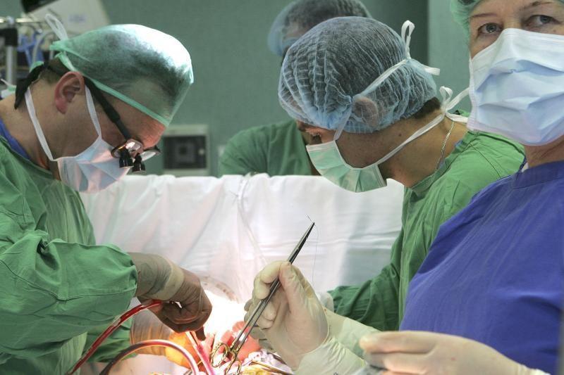 Kauno klinikose atlikta pirmoji Lietuvoje pakartotinė širdies transplantacija