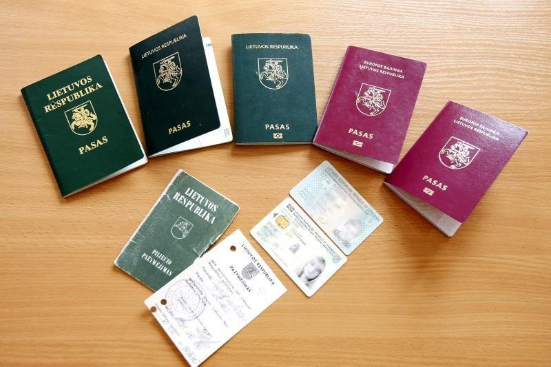 Nigerijos pilietis pateikė netikrą asmens dokumentą